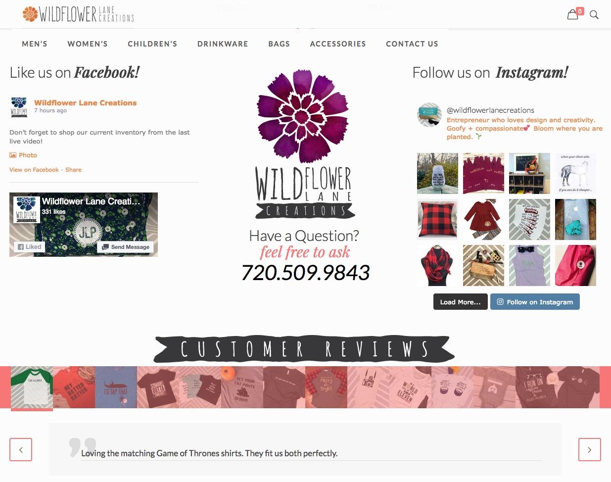 Lucian Marshall - Web Design - WildflowerLaneCreations.com