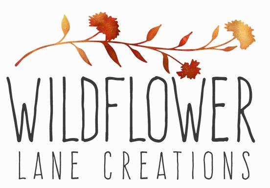 Lucian Marshall - Graphic Design - Wildflower Lane Creations Logo