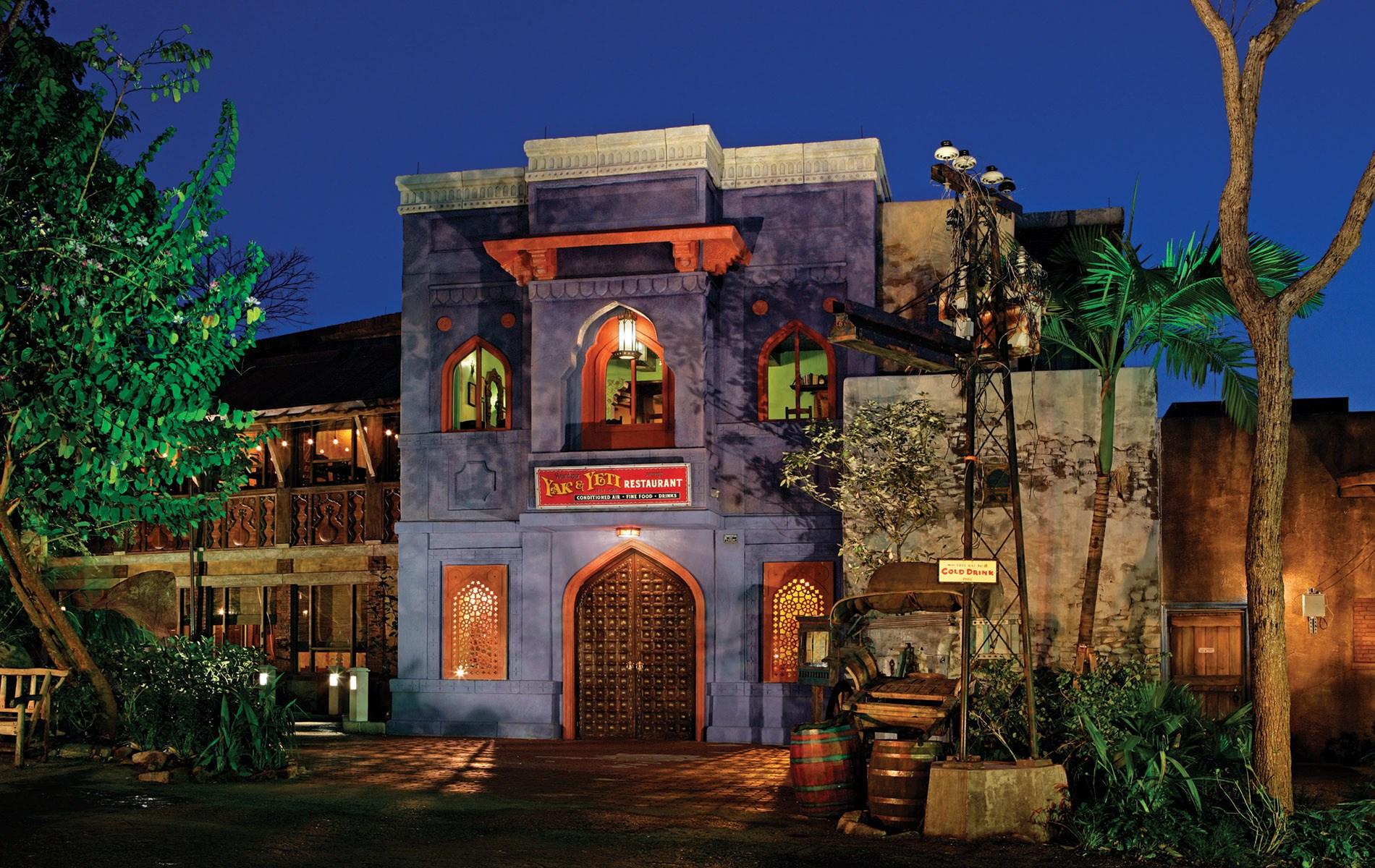 Lucian Marshall - Architectural Design - Disney World Animal Kingdom - Yak & Yeti Architectural Design