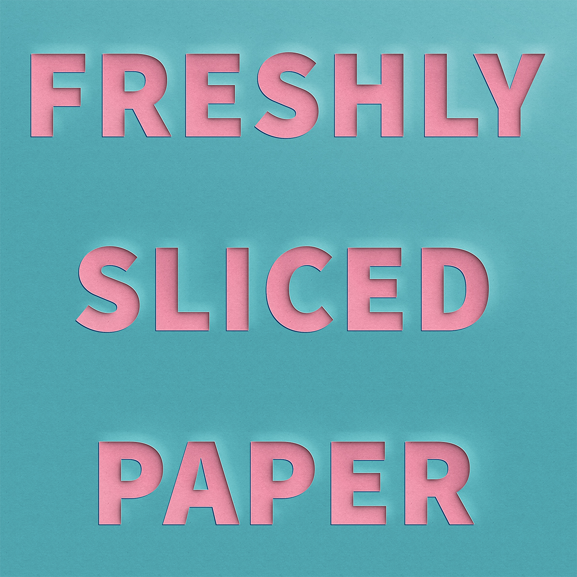 Lucian Marshall - Graphic Design - Freshly Sliced Paper