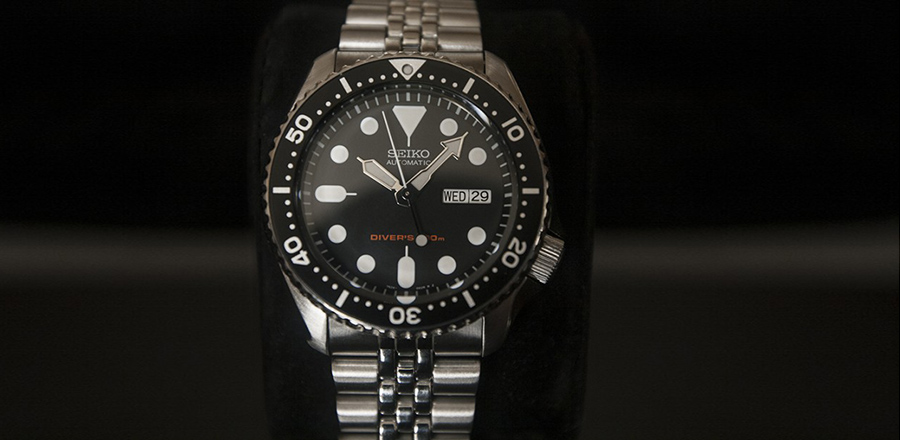 Lucian Marshall - Product Photography - Seiko SKX 007