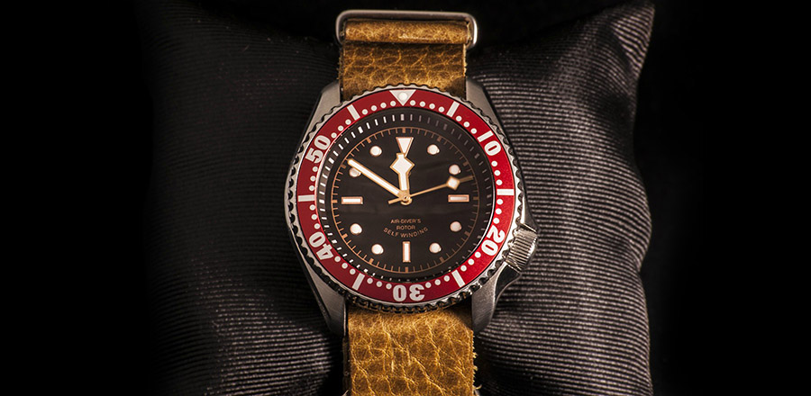 Lucian Marshall - Product Photography - Seiko SKX 007 modified